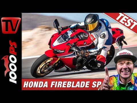 Honda CBR1000RR Fireblade SP im Vergleichstest auf der Rennstrecke beim Masterbike 2019