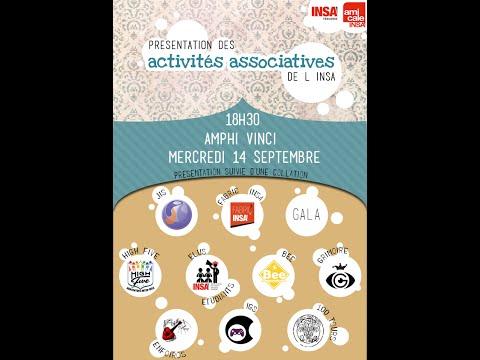 Présentation des Activités du Campus de l'INSA