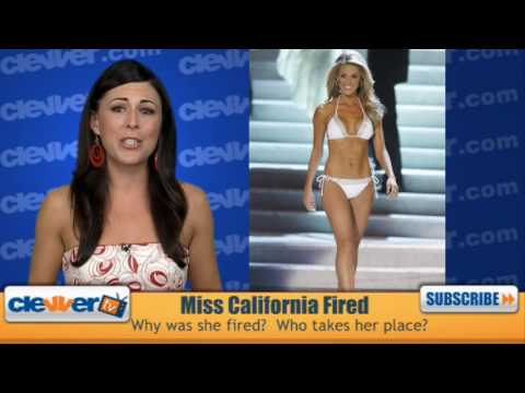 Miss California Fired - Who Replaced Her?
