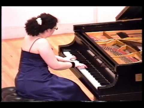 Jeanette Aufiero plays Rachmaninoff Etude-Tableau Op.39 No.5