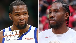 Kevin Durant's injury doesn't diminish Kawhi and the Raptors' greatness - Stephen A. | First Take
