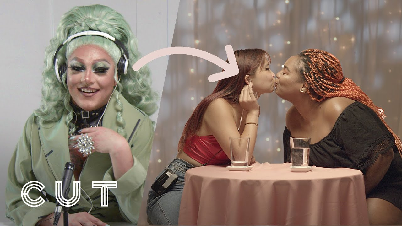 My First Lesbian Date Taken Over by 3 Drag Queens | In Your Head | Cut
