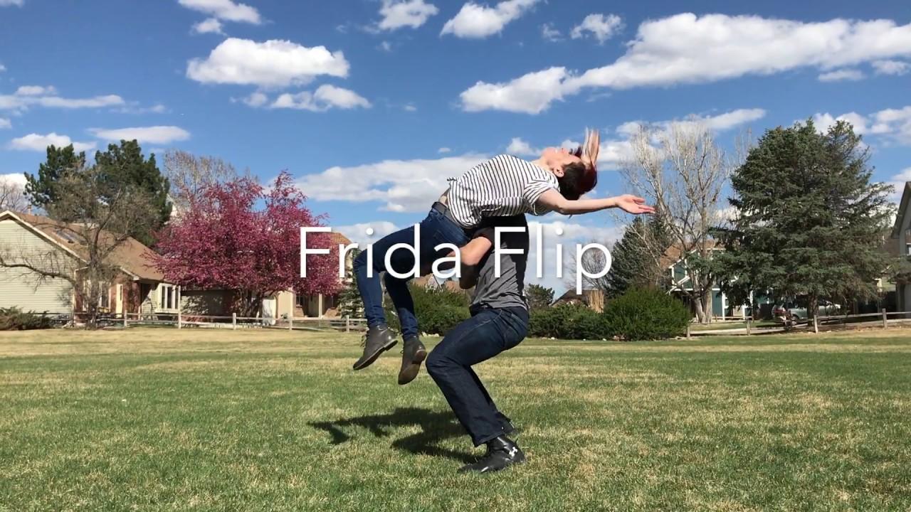 The trip flip | swing dance aerial breakdowns (lesson 8) | shauna.