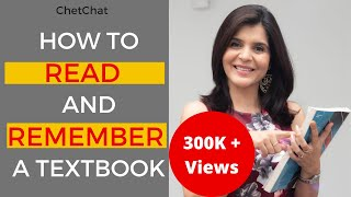How to Read a Textbook Efficiently & Remember What You Read or Studied | ChetChat Study Tips
