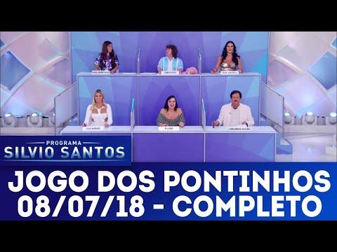 Jogo dos Pontinhos - Completo   Programa Silvio Santos (08/07/18)