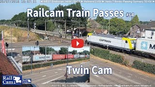 RailCam Train Passes on Twin Cam #64 thumbnail