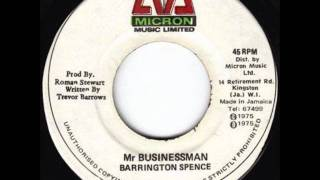 Barrington Spence - Mr Businessman