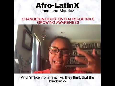 Defender Network: Jasminne Mendez on Changes in Awareness of Houston's Afro-Latinx Presence (9/21)
