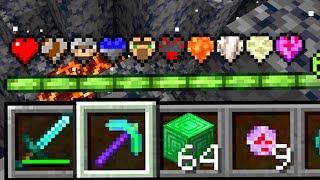 Paso Minecraft pero HAY AUN MÁS Corazones Custom OP