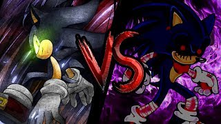 Dark Sonic vs Sonic.exe | Sprite Battle