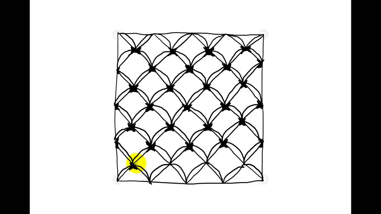 Zentangles Patterns Step By Step Zentangle Patterns   T...