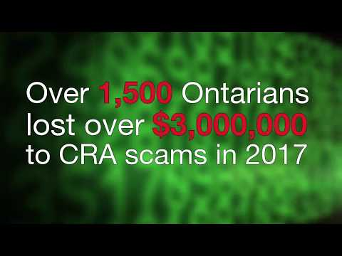 Canada Revenue Agency (CRA) Scam and Other Agency-Related Extortion Scams