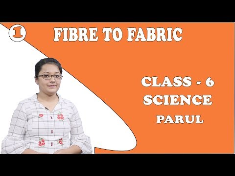 Fibre To Fabric Class 6 Science | Variety Of Fabrics, Plant Fibers, Yarn To Fabric | Parul