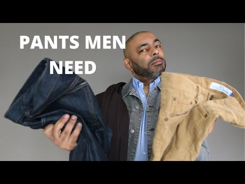 8 Pants Every Man Needs To Own In 2021