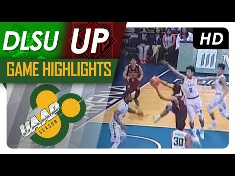 DLSU vs. UP | Game Highlights | UAAP 80 Men's Basketball | S