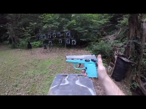 Shooting The SCCY CPX-1
