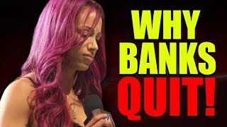 Why Sasha Banks (Wanted) to QUIT WWE! (FURIOUS At Wrestlemania 35) Charlotte ENGAGED to Andrade?
