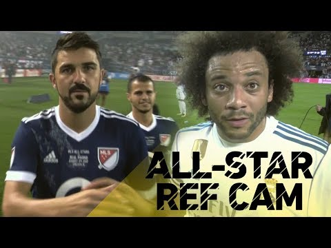REF CAM: MLS All-Stars vs. Real Madrid