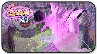 Roblox Shinobi Life Sasuke Eternal Mangekyo Sharingan Kekkei Genkai In Arena Mode