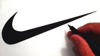 How to Draw the Nike Swoosh