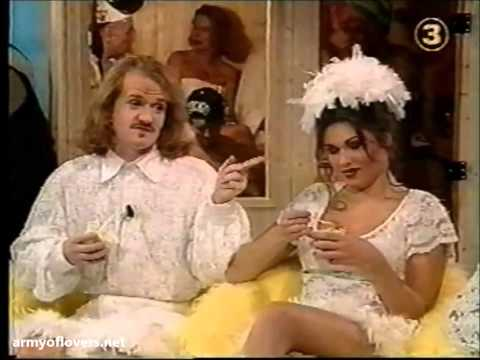 "Army of Lovers on Adam Alsing's show / Interview + Performance of ""Lit de Parade"" (Sweden, 1994)"