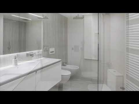 Applications of Neolith for bathrooms
