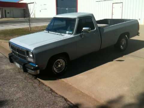 My 91 Dodge Ram D150