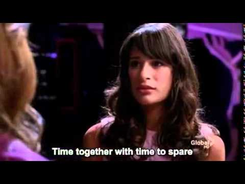 Glee Somewhere there´s place for us.flv
