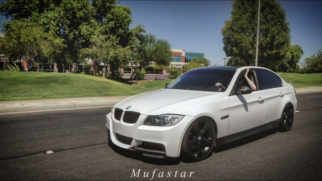 Stanced Car Wallpaper Hd David S White 335i Simple And Clean E90 4k Youtube