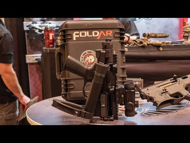 Dead Foot Arms Folding Stock and Fold AR Upper - 2019 SHOT Show