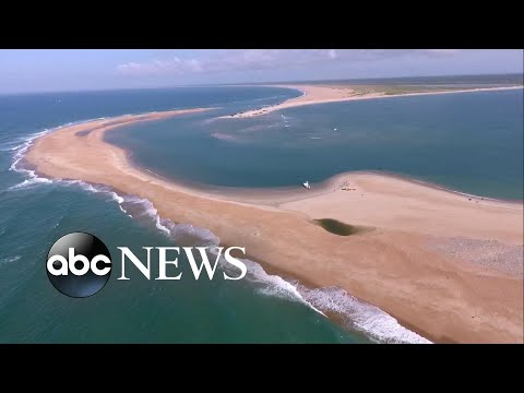 Exploring Shelly Island, A New Island Formed Off The North Carolina Coast