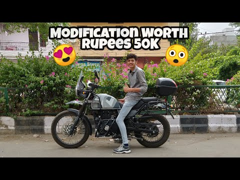 Modifications On My Royal Enfield Himalayan BS4