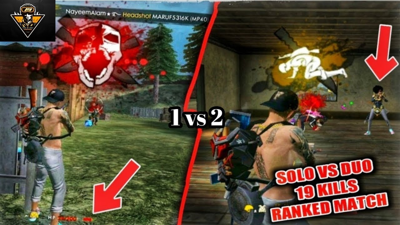 Solo Vs Duo In Free Fire Whatsapp Videos 4 Kill 30 Second The Gaming Icon Free Fire Videos