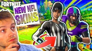 🔴 [FORTNITE] WEEK THE FOOTBALL SKINS AMERICAN NFL MEMENT! NEW SKINS ABOYEUR TODAY