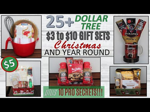 25 DOLLAR TREE DIY Gift Basket Ideas| INCLUDES IDEAS GREAT FOR VALENTINES! | Plus 10 PRO SECRETS!!