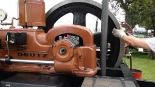 Standmotor Deutz MIH 332 mit Luftstart