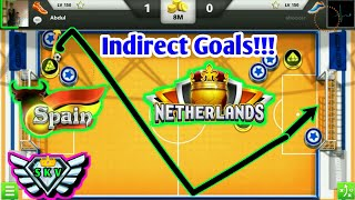 SPAIN&NETHERLANDS❄Indirect Amazing Goals🌼Try To Corner No Problem😂SOCCER STARS TIPS AND TRICKS 🐉⭐