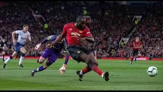 Romelu Lukaku misses open goal vs Tottenham Hotspur