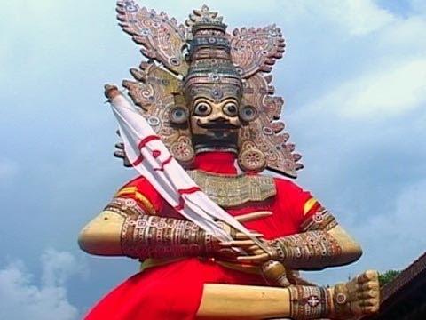 Effigies of Pandavas, Sree Padmanabha Swamy temple, Thiruvananthapuram