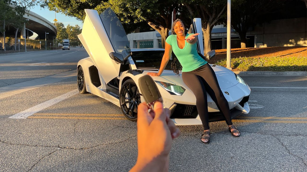 She Went Nuts In My Lamborghini Aventador + So Much More.. - download from YouTube for free