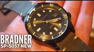 Spinnaker Bradner Compressor Automatic Watch Review SP-5057