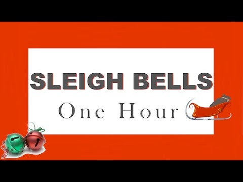 Sound Effects of Sleigh Bells ➡ ONE HOUR ➡  Christmas Bells | HQ