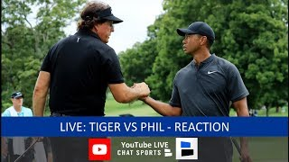 Tiger Woods vs. Phil Mickelson Pay Per View Live Stream Reaction & Updates Of The Match