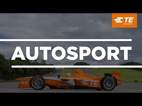 TE Connectivity Andretti Technologies Formula E Test Garage Tour