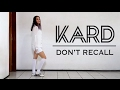 K.A.R.D - Don't Recall | Dance Cover