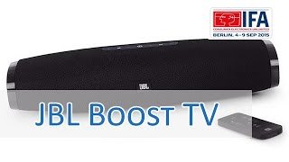 IFA 2015: JBL Boost TV Soundbar - Hands on