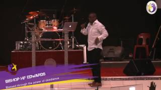 Video blessed through the power of obedience by Bishop HF Edwards download MP3, 3GP, MP4, WEBM, AVI, FLV Juli 2018