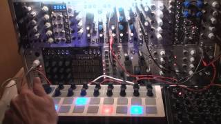 Arturia BeatStep CV Sequencer in a modular setup [HQ Quality]