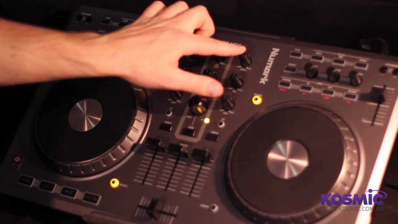 Numark Mixtrack DJ Software Controller Overview