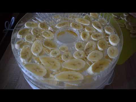 Вопрос: Как высушить бананы?